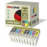 10 XL TONER EXPERTE® Druckerpatronen kompatibel für Epson 16XL Workforce WF-2010W, WF-2510WF, WF-2520NF, WF-2530WF, WF-2540W, WF-2630WF, WF-2650DWF, WF-2660DWF
