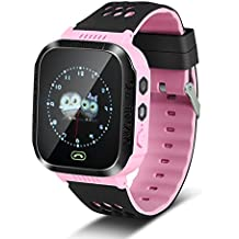 Richer-R Reloj Infantil Inteligente con Pantalla Táctil para Niños,Pulsera Watch con Linterna