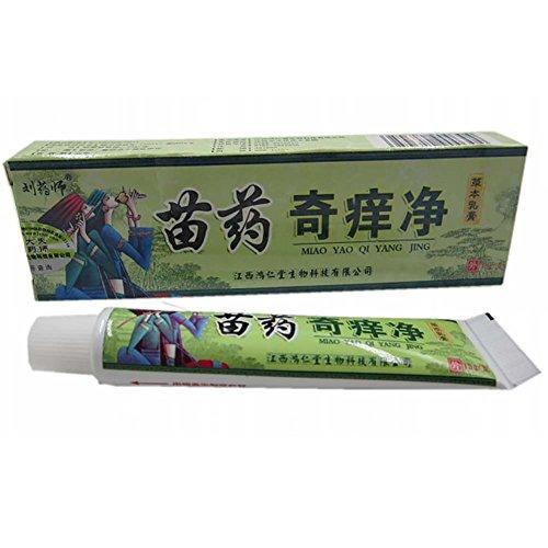BOBORA Creme Pommade Menthe Onguent pour Psoriasis Eczema Dermite Vitiligo Rougeurs Maladie Mineur 15g