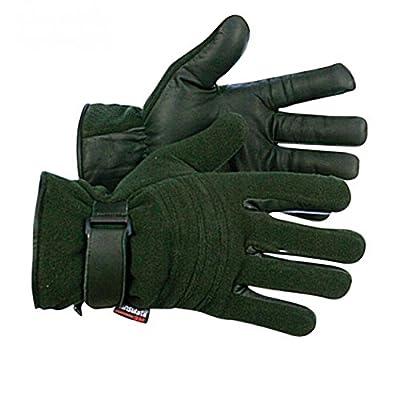 G8DS® Jagd- und Outdoorhandschuhe Leder Damen Herren grün 8490K