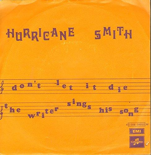 the writer sings his song / don't let it die 45 rpm single (Smiths Vinyl Die)
