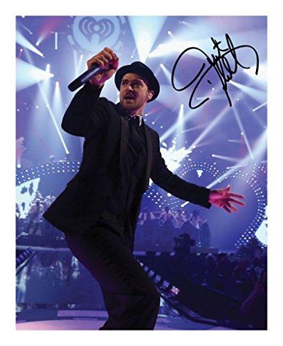 Justin Timberlake Autogramme Signiert 21cm x 29.7cm Foto Plakat