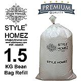 Style Homez 1.5 Kg Premium Bean Bag Refill for Bean Bags