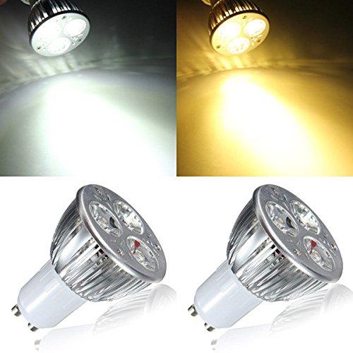 Bazaar Gu10 9w weiße/warme weiße 3 LED entdeckt Glühbirne LED Lampenlicht ac85-265v