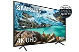 Samsung 4K UHD 2019 43RU7105 - Smart TV de 43' con Resolución 4K UHD, Ultra Dimming, HDR (HDR10+), Procesador 4K, One Remote Experience, Apple TV y Compatible con Alexa