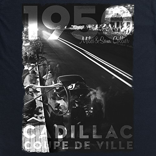 Official LAT Photographic 1950 Le Mans 24 Hours, France T-Shirt, Herren Schwarz