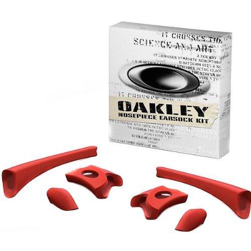 Oakley Unisex Flak Jacket Polarized Iridium Ersatzlinsen, Rot, 0 mm