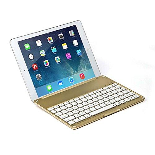 ooth Tastatur Fall addlee F9S speziell für das iPad Luft gold (Die Liste Der Speziellen Fälle)