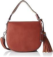ESPRIT 087ea1o002, Sacs portés épaule femme, Orange (Terracotta), 6x18x21 cm (B x H T)