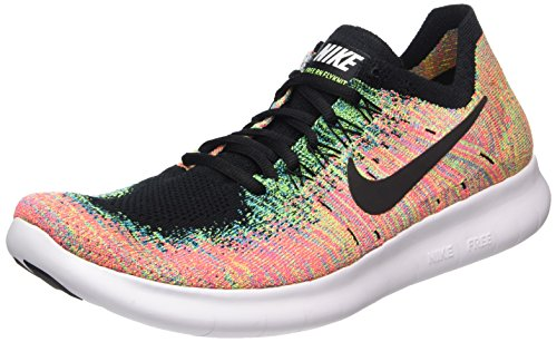 brand new e8296 6ee3c Nike Free Rn Flyknit 2017, Zapatillas de Running Hombre, Multicolor (Black  black