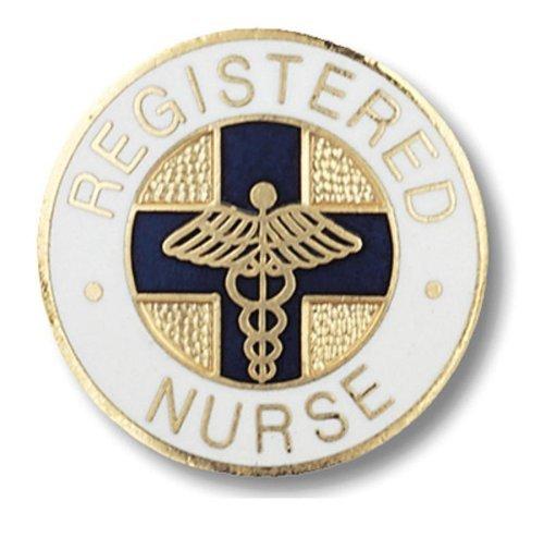Patch Nation Registered Nurse, Medizin, Pin-Anstecker (Templer Kleidung)
