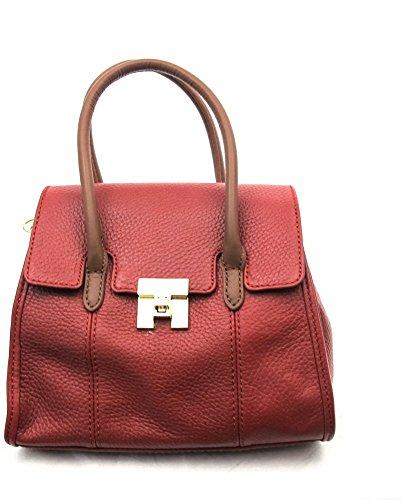 Tommy Hilfiger ,  Damen Tornistertasche , Rot - rot - Größe: Small