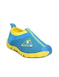 Daresay Boys Sky Blue Slip On Shoes