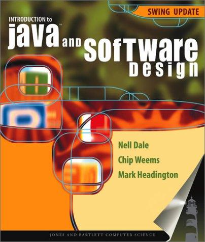 INTRO TO JAVA & SOFTWARE DESI Java Chip