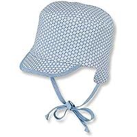 7fb95e41f559 Sterntaler Bonnet réversible avec visière, Cordons à nouer et  cache-oreilles pour garçons,