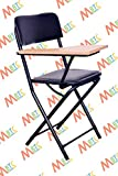#3: MBTC Ambient Folding Study Training Institution Writing Pad Folding Chair in Black