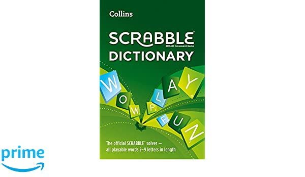 Collins Scrabble Dictionary: The Official Scrabble Solver - All ...