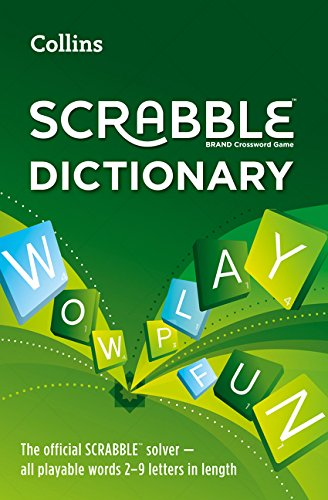 Collins Scrabble Dictionary: The official Scrabble solver - all playable words 2 - 9 letters in length por Collins Dictionaries