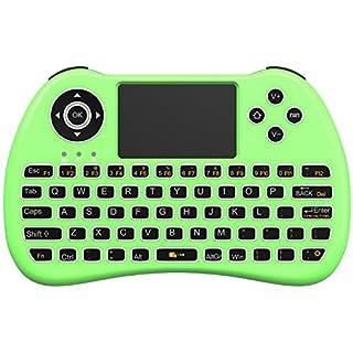Aerb Hintergrundbeleuchtung 2,4GHz Wireless Mini Tastatur H9Pro
