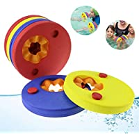 Weeygo Discos de Natación Swim Float Disc Kids Learn To Swim Discos Flotantes Marcas de Espuma EVA Float para Swimming Pool, 6 Piezas / Set