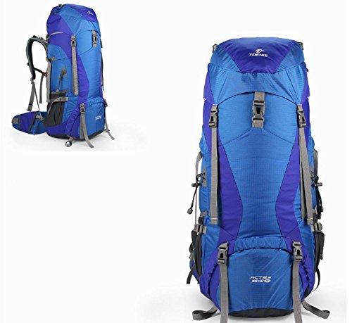ROBAG Sport outdoor zaino spalla zaini nuovi nylon 45 + 10L 55 + 10L 65 + 10L aggiornamenti , green 45+10l blue 65+10l