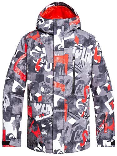 Quiksilver Mission-Veste de Ski/Snowboard pour Homme, Poinciana giantforce, FR : M (Taille Fabricant : M)
