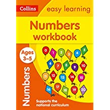 ‏‪Numbers Workbook Ages 3-5: Prepare for Preschool with Easy Home Learning‬‏