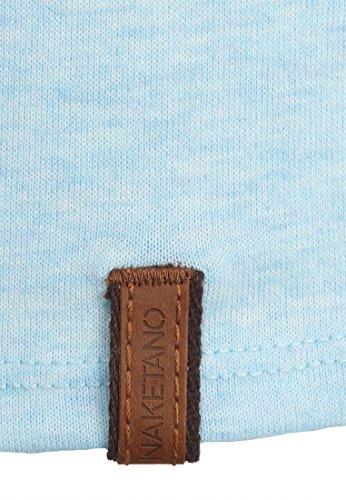 Naketano Male T-Shirt Bumsebumse Shirt IV Blau -Bubble Butt Melange
