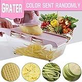 libeauty Multifunktions-Kartoffelschneider Schneidemaschine für Küche, Gemüse, Kartoffel, Schneidegerät, Küchenwerkzeug