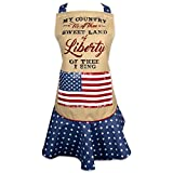 Best DII Gifts For Mothers - DII Cotton Sweet Liberty Women Ruffle Apron Review