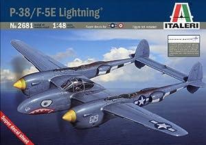 Italeri 2681S F-5E Lightning - Caza a escala importado de Alemania