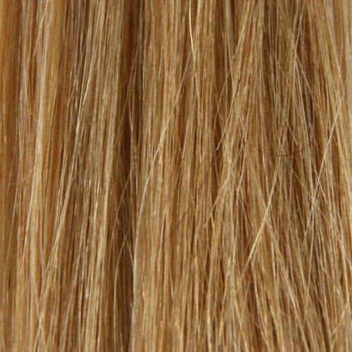 BiYa Hair Elements Thermatt Haarverlängerung Bun Pferdeschwanz Hair Extensions Haargummi, gelockt, Medium Brown Nr. 6 (Nr Bun)