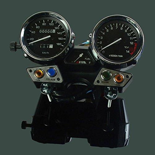 Schnell Pro Motorrad Tachometer Kilometerzähler Instrument Tacho Gauge Cluster Meter für Yamaha XJR1300XJR 13001998–2010Motorrad