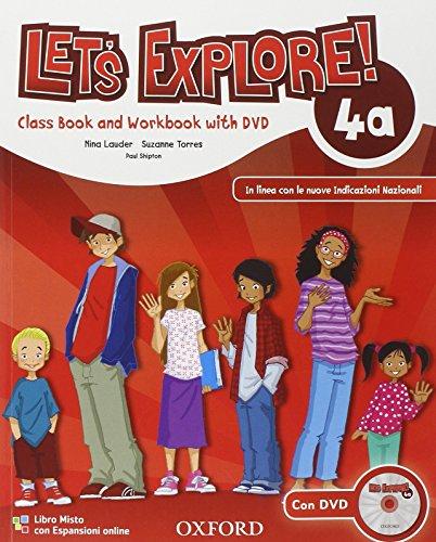 Let's explore. Student's book-Workbook. Per la Scuola elementare. Con DVD-ROM. Con espansione online: 4