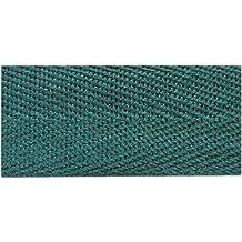 Sewingyard–lunghezza 5metre–25mm (2,5cm) di larghezza di lusso in acrilico a spina di pesce grembiule nastro cinghie reggiatura morbido e forte- Guaranted senza giunture, Acrilico, Bottle Green, 25mm