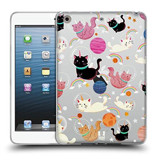 Head Case Designs Katze Raum Einhorn Soft Gel Hülle für Apple iPad mini 1 / 2 / - Cellular Gb 2 Mini 128 Ipad