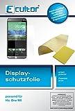 Ecultor HTC M8 Schutzfolie (6 Stück) inkl. Tuch und Rakel - klare Premium Folie als Displayschutz