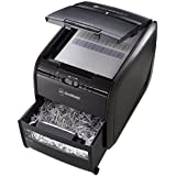 GBC AUTO+ 60X Auto Feed Paper/Credit Card Cross Cut Shredder with Automatic Feed, 60 Sheet Capacity and 15L Bin