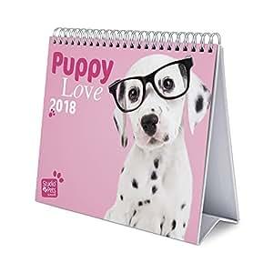 kalender desktop deluxe 2018 studio pets dogs. Black Bedroom Furniture Sets. Home Design Ideas