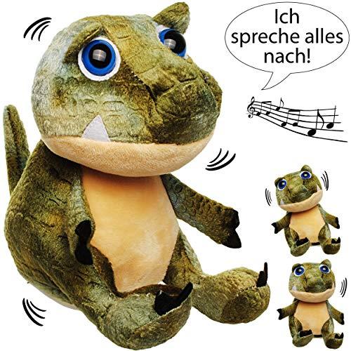 inosaurier / Dino -  Ich spreche Alles nach & bewege Mich dazu  - aus Stoff / Plüsch - Plüschtier - mit Sound & Bewegung - spricht & pla.. ()