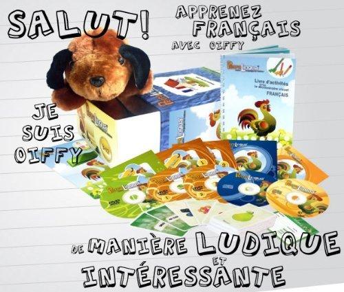 Kit audiovisual PetraLingua francés niños dvd-cd-libro