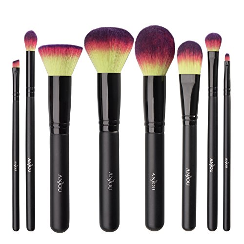 Anjou Make Up Pinsel Set, 8pcs