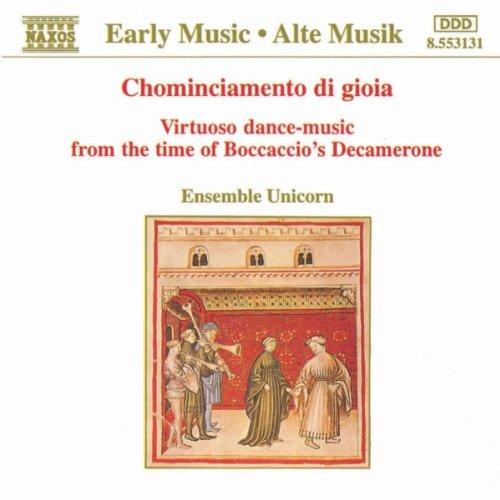 Virtuoso Dance Music from the Time of Boccaccio's Decamerone: Tre fontane