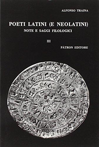 Poeti latini e neolatini. Note e saggi filologici: 5