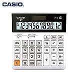 LETAMG Calculatrice Ordinateur Solaire Professionnel À Calcul Ultra-Large DH-12 pour Ordinateur De Bureau, 12 Chiffres, F