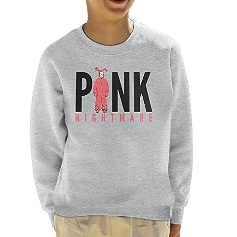Pink Nightmare Bunny Christmas Story Black Kid's