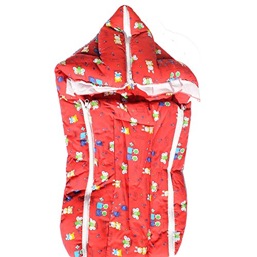 My Angel Baby bed Carrier cum wrap with Double chain Multicolor