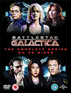 Battlestar Galactica: The Complete Series [DVD] [2004] (B0027UY8AY) | Amazon price tracker / tracking, Amazon price history charts, Amazon price watches, Amazon price drop alerts