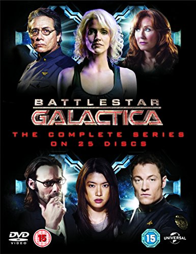 Battlestar Galactica: The Complete Series [Edizione: Regno Unito] [Reino Unido] [DVD]