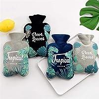 Wassergefüllte Palm Leaf Plüschjacke Wärmflasche 4-teilig, für Erwachsene und Studenten, Winter explosionsgeschützte... preisvergleich bei billige-tabletten.eu